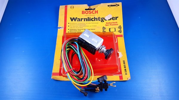 Centrale clignotante Kit WARNING BOSCH OPEL, BMW, VW cox, combi